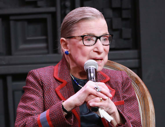Ruth Bader Ginsburg reveals her #MeToo moments