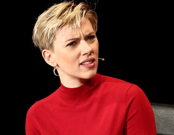 Scarlett Johansson's grandma doppelgänger