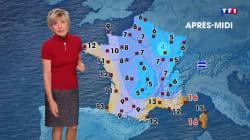 Evelyne Dhéliat répond avec humour à Hervé Morin qui critique sa météo