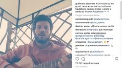 Willy Bárcenas canta 'Tu Canción', de Alfred y