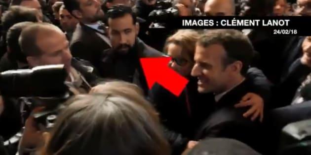 Alexandre Benalla accompagnait Macron au Salon de l'agriculture, ce journaliste a retrouvé les images