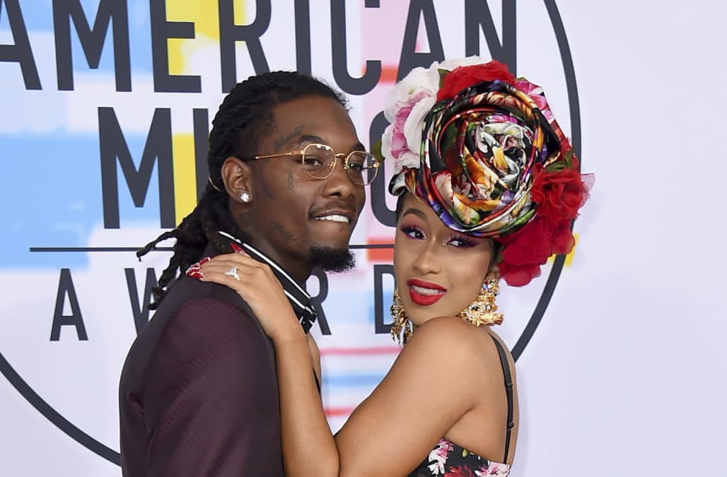 Cardi B Puts Her Engagement Ring Back On After Brief Split From