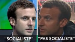 Macron est-il socialiste? Ça dépend des