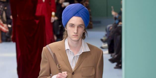 Fashion Week de Milan: Gucci accusée d'appropriation culturelle pour ce turban