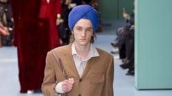 Gucci accusée d'appropriation culturelle pour ce turban porté à la Fashion Week de