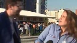 El acoso en directo a las reporteras en el Mundial de