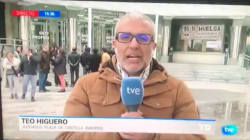 Apoyo unánime para este reportero del Telediario de TVE tras pasar en directo el peor momento de su