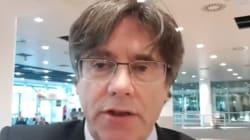 Puigdemont llama a movilizarse contra el
