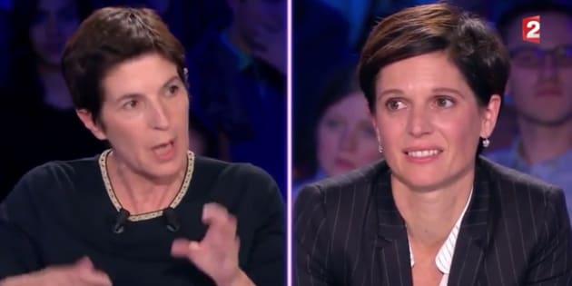 """Le montage de la séquence du clash entre Christine Angot et Sandrine Rousseau dans ONPC jugé """"irrespectueux"""""""
