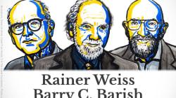 Nobel per la Fisica 2017: per la scoperta delle onde gravitazionali vincono Kip Thorne, Ray Weiss e Barry