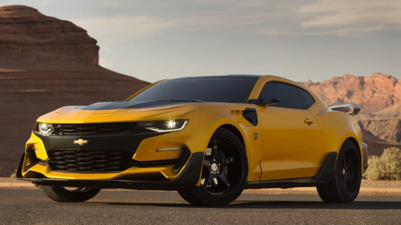 Image result for bumblebee camaro transformers 5