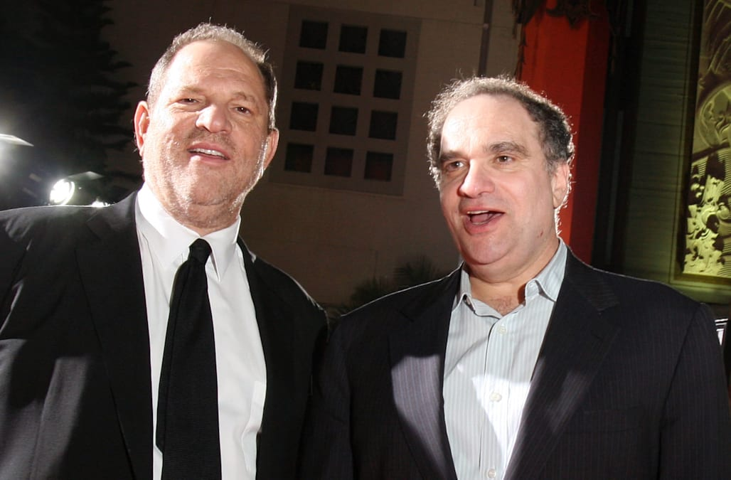 Bob Weinstein confronted brother Harvey over 'misbehavior' 2 years before scandal broke - AOL