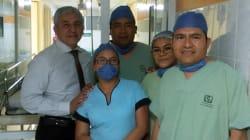 Equipo médico del IMSS en Oaxaca extrae útero de la madre para salvar a su