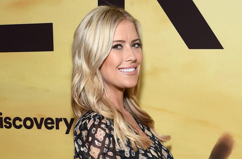 See pregnant Christina Anstead lounging in bikini days