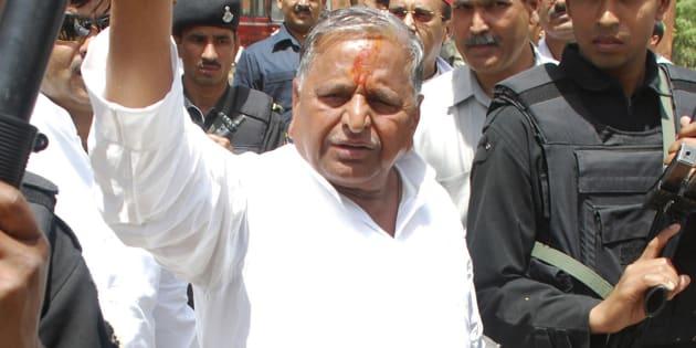 File photo of Mulayam Singh Yadav.