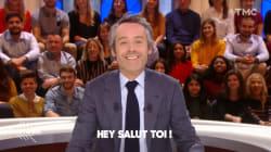 Yann Barthès avait un message de bienvenue très particulier pour la venue de Trump en