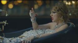 Taylor Swift se pone rebelde en el vídeo de 'Look What You Made Me
