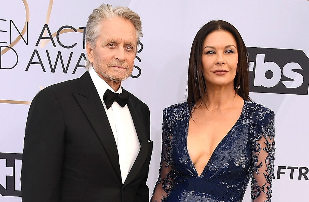 Michael Douglas and Catherine ...