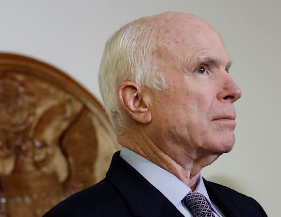 John McCain goes off on Trump in his new book