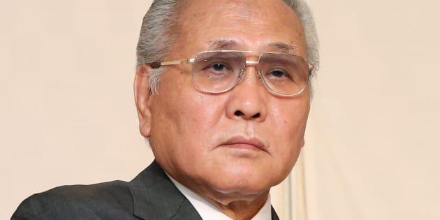 日本ボクシング連盟・山根明会長 撮影日:2015年10月19日