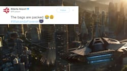 Atlanta Airport Teases 'Black Panther' Fans With Flights To
