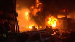 La capitale du Bangladesh dévastée par un incendie