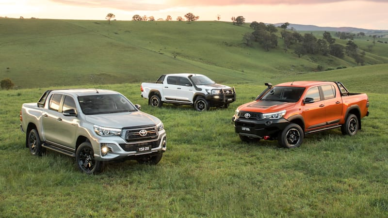 Toyota Hilux gets tougher-looking trim lines
