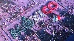 Crean la palabra México con la participación de mil 700