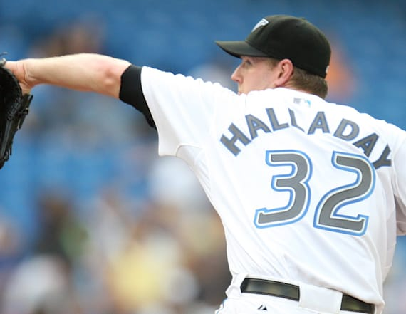 Roy Halladay's son to pitch in spring training game