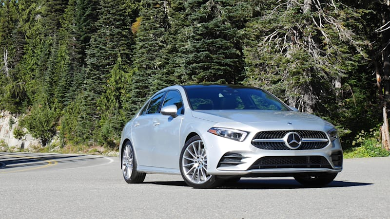 2019 mercedes benz a 220 4matic quick spin review autoblog. Black Bedroom Furniture Sets. Home Design Ideas