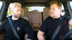 James Corden And Adam Levine Get Pulled Over During 'Carpool