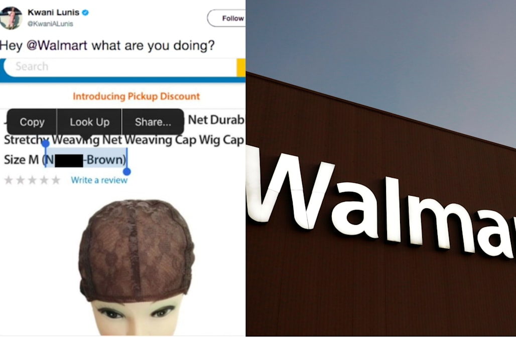 Walmart Apologizes After Offering Hair Weaving Net In N R Brown