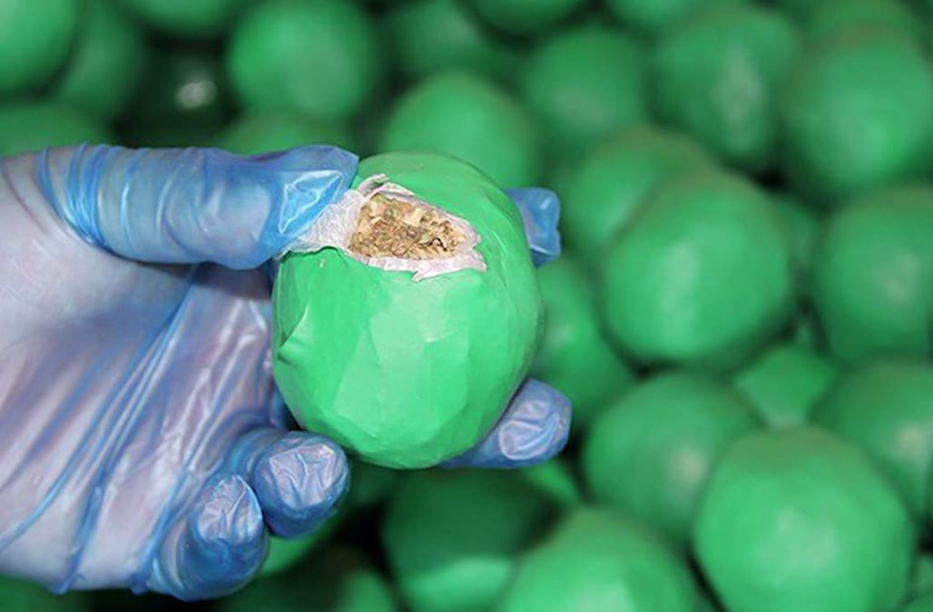 Customs agents seize 3,947 pounds of weed disguised as limes