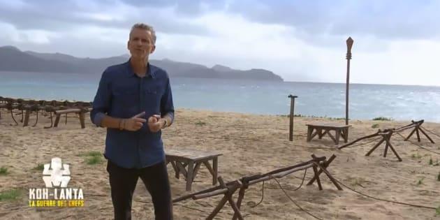 """Denis Brongiart avait effectivement perdu quelques kilos lors du tournage de """"Koh Lanta: la guerre des chefs"""""""