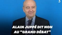 Alain Juppé n'envisage pas de piloter le grand
