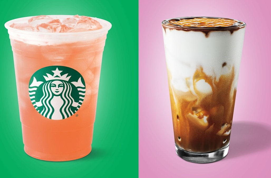 Starbucks Is Adding 4 New Colorful Iced Drinks To Its Menu