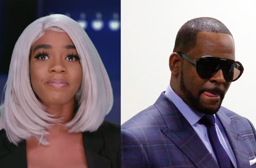 R  Kelly's daughter opens up about considering suicide - AOL