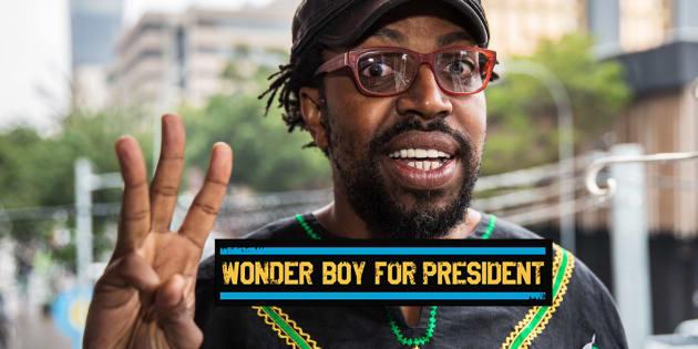 Wonder Boy For President starring Kagiso Lediga