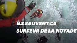 Ces gardes-côtes écossais ont pris tous les risques pour sauver la vie de ce