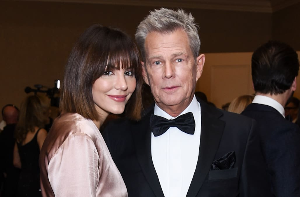 Katharine Mcphee Claps Back At Troll Who Calls David Foster Geriatric Aol Entertainment