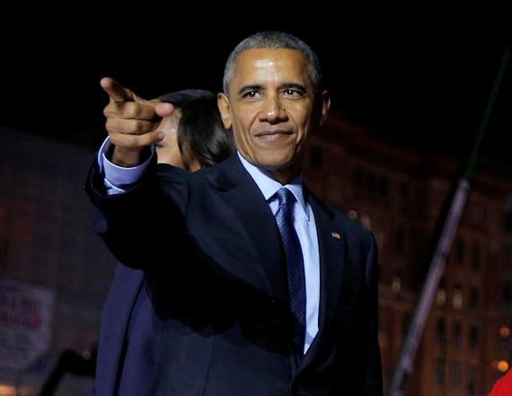 Obama makes post-White House campaign trail debut