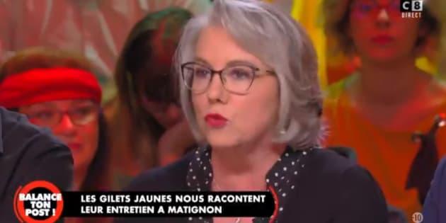 """Jacline Mouraud est revenue sur sa rencontre avec le premier ministre dans l'émission """"Balance ton post"""", vendredi 8 décembre."""