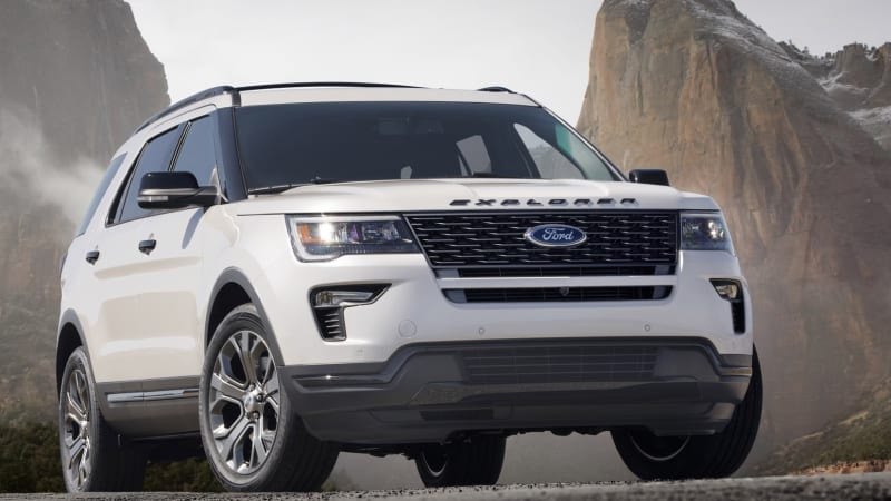 2018 Ford Explorer Gets The Lightest Of Refreshes To Stay Atop Suv Craze Autoblog