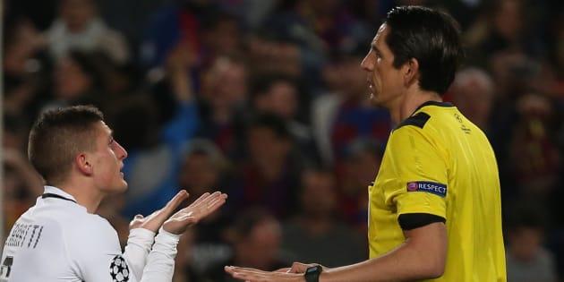 La lettre amère du PSG à l'UEFA sur l'arbitrage face au Barça