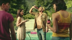 Coke's Sexy New Ad Shows Brother And Sister Competing For The Pool