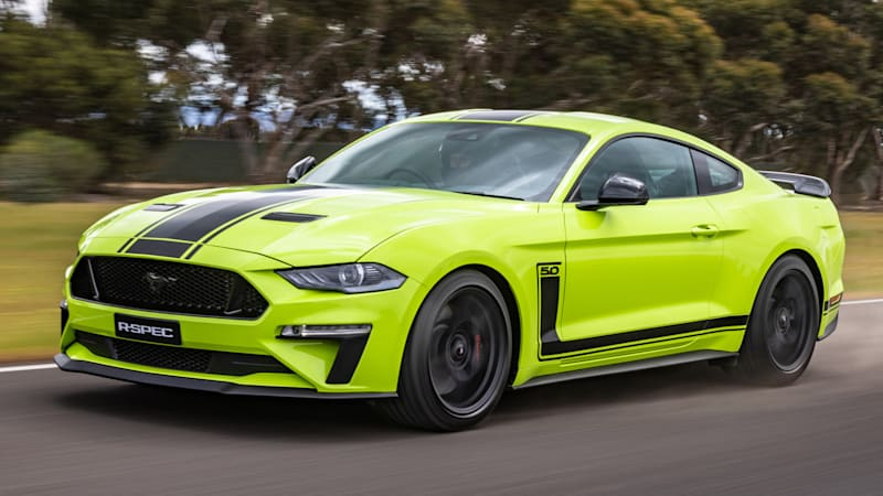 Ford Mustang R-Spec is a 700-horsepower Mustang we can't buy