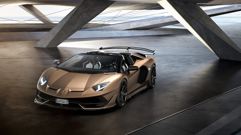 Lamborghini Aventador Svj Roadster Unveiled At The Geneva Motor