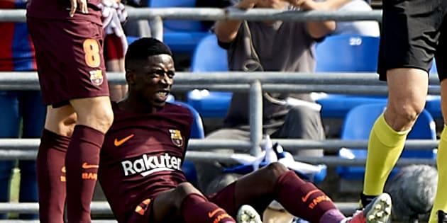 Ousmane Dembélé absent 3 à 4 mois après sa grosse blessure avec Barcelone contre Getafe
