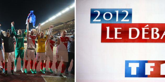 Supporters de l'AS Monaco et fans de foot seront face à un dilemme au soir du débat d'entre-deux-tours