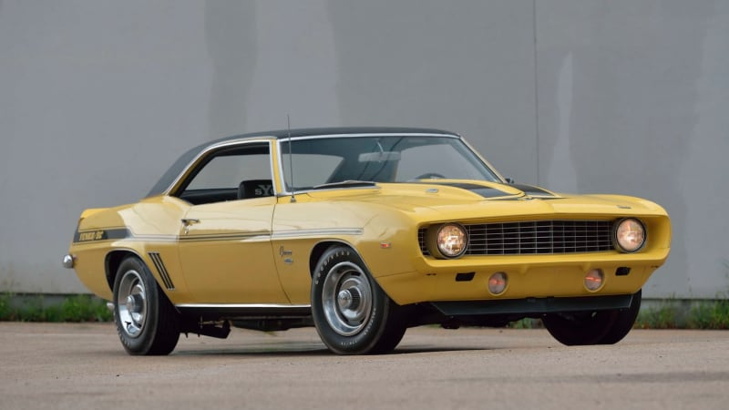 1969 Chevy Camaro Zl1 And Yenko Camaro Heading To Mecum This